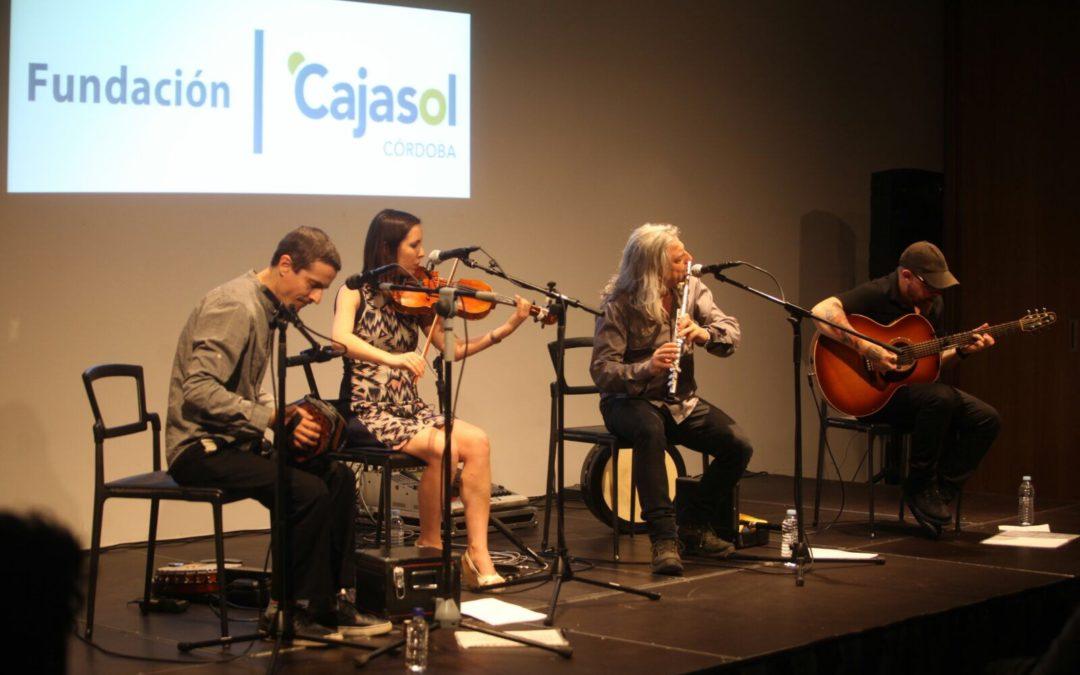 La Fundación Cajasol finaliza su ciclo 'Músicas en Primavera' en Córdoba con el grupo Sheela Na Gig