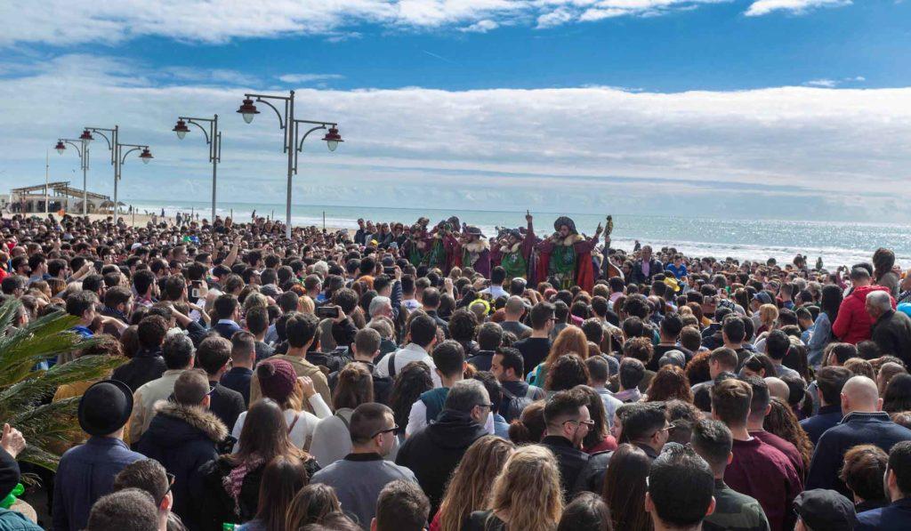 Foto ganadora del I Concurso de Fotografía 'Carnaval de Cádiz' de la Fundación Cajasol