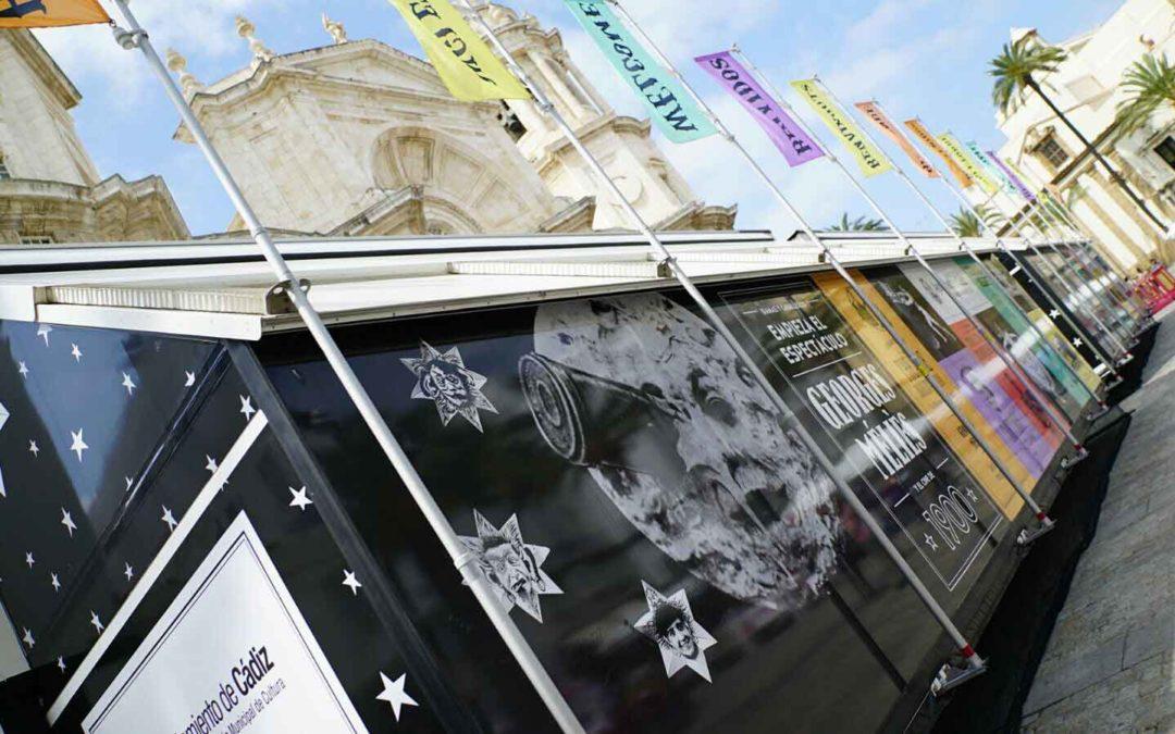 'Empieza el espectáculo. Georges Meliés y el cine de 1900' en la plaza de la Catedral hasta el 7 de junio