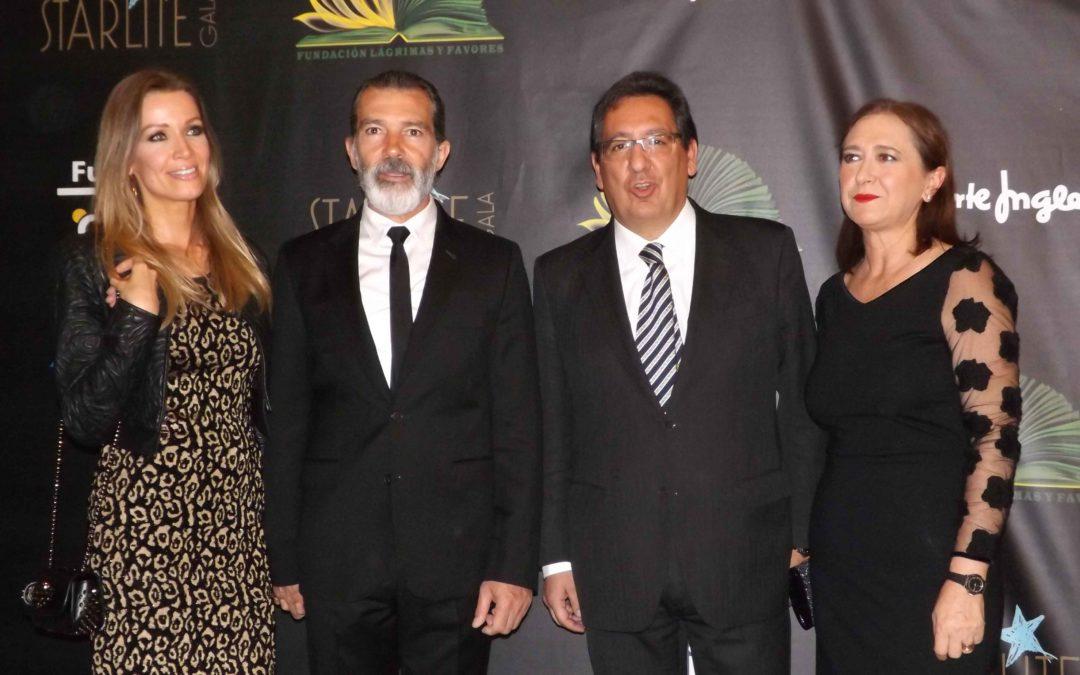 Gala benéfica de la Fundación Lágrimas y Favores 2017 en Málaga