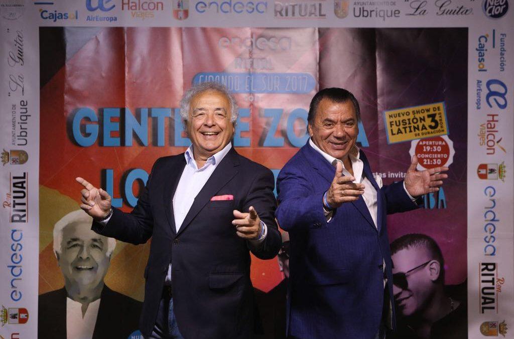 La Fundación Cajasol acoge la presentación del nuevo proyecto de Gente de Zona y Los del Río