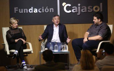 Susi Díaz y Xanty Elías en la Fundación Cajasol: cómo conseguir el éxito 'cuando la cocina es una fiesta'