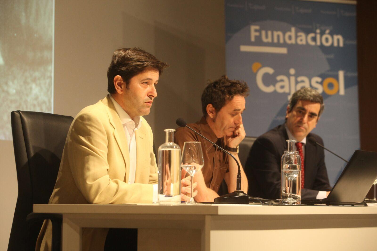 Conferencia sobre 'Manolete' en la Fundación Cajasol (Córdoba)