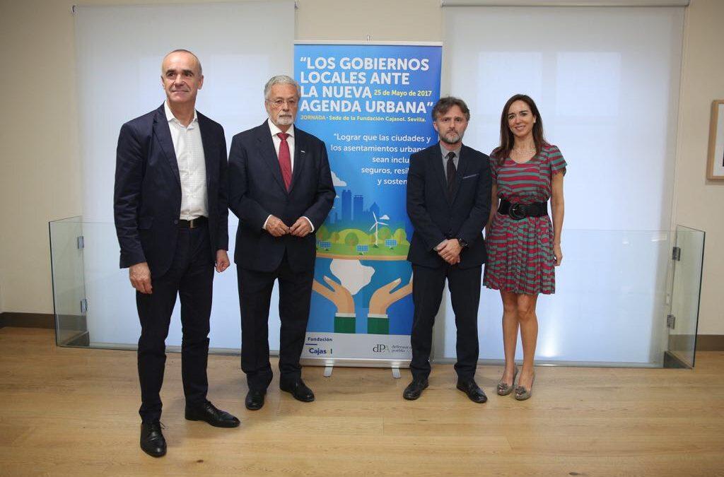 Jornada 'Los Gobiernos Locales ante la Nueva Agenda Urbana' desde la Fundación Cajasol