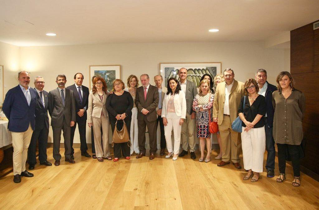 La Fundación Cajasol, escenario del seminario promovido para lanzar la candidatura de Itálica al patrimonio mundial
