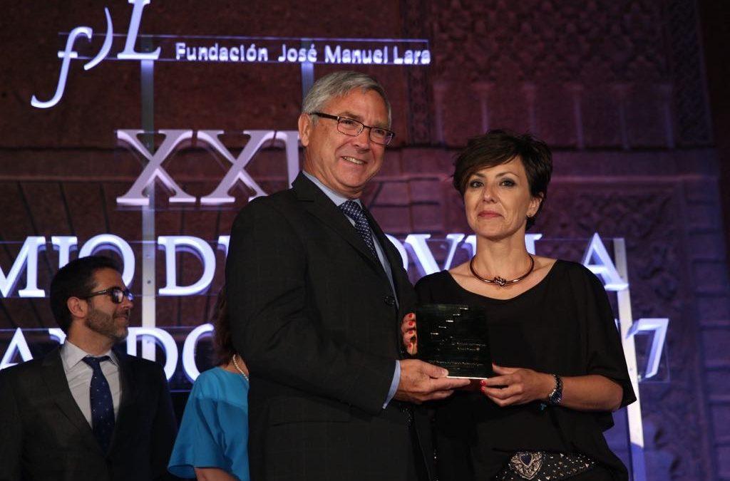 Sonsoles Ónega gana el XXII Premio de Novela Fernando Lara con 'Las palabras del amor'