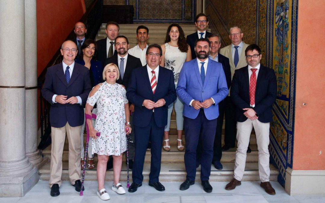 La Fundación Cajasol y la Fundación Andalucía Olímpica renuevan su colaboración