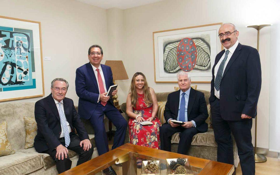 Presentación de la obra ganadora del premio Manuel Alvar de Estudios Humanísticos 2017 en la Fundación Cajasol