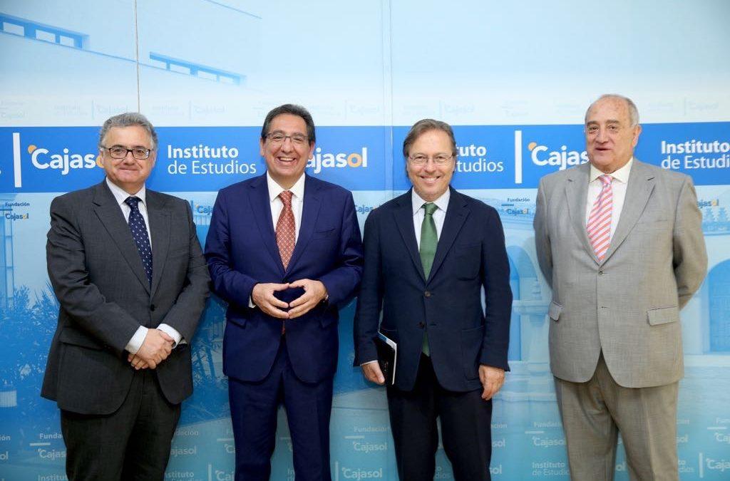 Desayuno-Coloquio del Club de Directivos Andalucía con el Consejero Delegado de DKV Seguros, Josep Santacreu Bonjoch