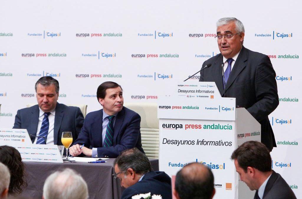 Desayunos Informativos de Europa Press, con el consejero de Economía y Conocimiento, Antonio Ramírez de Arellano