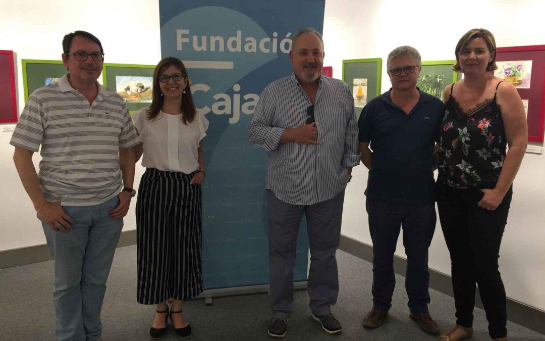 Pacientes de salud mental de Huelva exponen en la Fundación Cajasol las obras realizadas en el taller de acuarelas