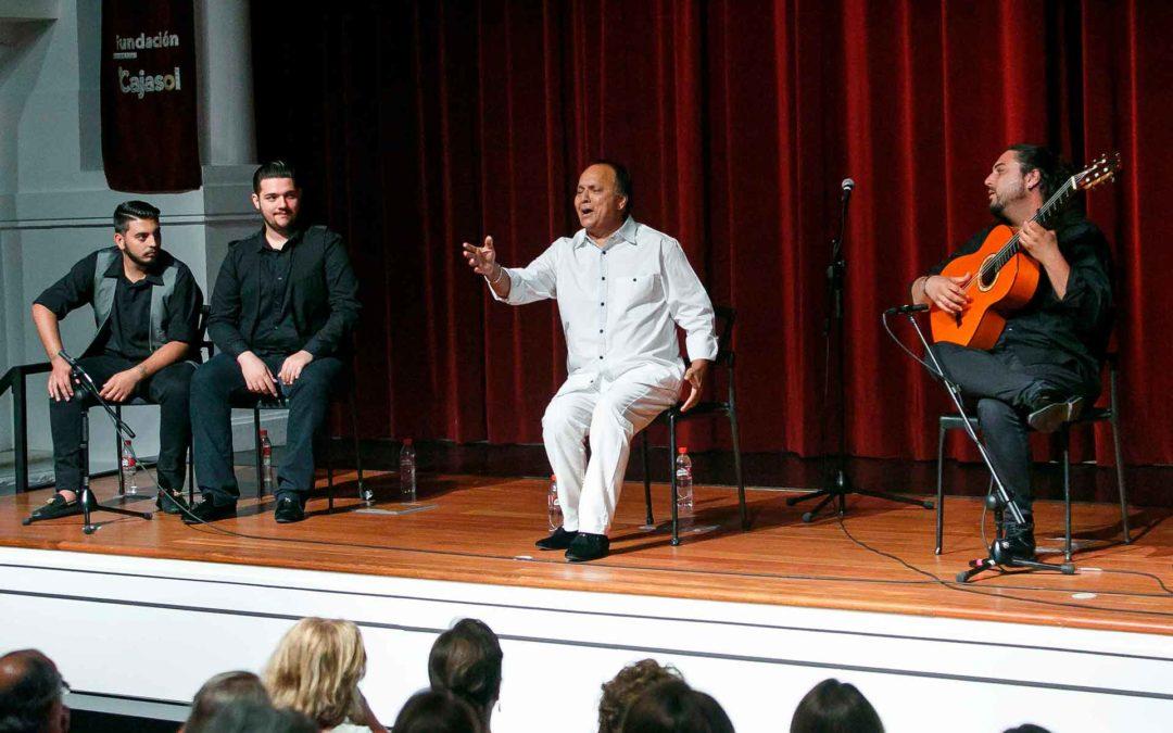 'El Pele' inaugura el mes de junio en los Jueves Flamencos de la Fundación Cajasol