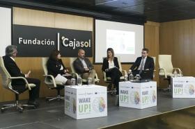 """Jornada informativa sobre el programa de emprendedores 'Wake UP!' en Sevilla (9) • <a style=""""font-size:0.8em;"""" href=""""http://www.flickr.com/photos/129072575@N05/41365273262/"""" target=""""_blank"""">View on Flickr</a>"""