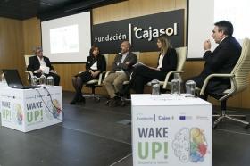 """Jornada informativa sobre el programa de emprendedores 'Wake UP!' en Sevilla (6) • <a style=""""font-size:0.8em;"""" href=""""http://www.flickr.com/photos/129072575@N05/41365272152/"""" target=""""_blank"""">View on Flickr</a>"""