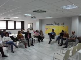 "Proyecto INSIDE en la sede de la Fundación Cajasol en Huelva (2) • <a style=""font-size:0.8em;"" href=""http://www.flickr.com/photos/129072575@N05/26362345757/"" target=""_blank"">View on Flickr</a>"