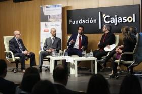 "II Foro Emprendedores Andalucía: 'Eficiencia de las PYMES y STARTUPS en la Era Digital' en Sevilla (10) • <a style=""font-size:0.8em;"" href=""http://www.flickr.com/photos/129072575@N05/27376766348/"" target=""_blank"">View on Flickr</a>"