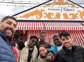 "Feria de Sevilla 2018: Almuerzo con entidades sociales (5) • <a style=""font-size:0.8em;"" href=""http://www.flickr.com/photos/129072575@N05/40574209475/"" target=""_blank"">View on Flickr</a>"