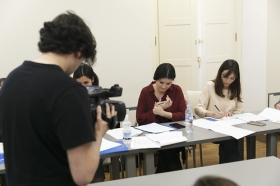 """Curso de presentación y edición de informativos y espacios de entretenimiento de Atresmedia Formación 2018 en Sevilla (4) • <a style=""""font-size:0.8em;"""" href=""""http://www.flickr.com/photos/129072575@N05/27976297698/"""" target=""""_blank"""">View on Flickr</a>"""