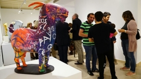 """Exposición 'Despensa de recuerdos. Olores, sabores y sensaciones de la Sierra' en Cádiz (2) • <a style=""""font-size:0.8em;"""" href=""""http://www.flickr.com/photos/129072575@N05/40533221990/"""" target=""""_blank"""">View on Flickr</a>"""