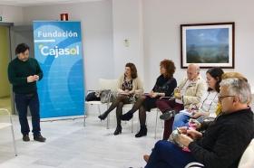 "Proyecto INSIDE en la sede de la Fundación Cajasol en Huelva (4) • <a style=""font-size:0.8em;"" href=""http://www.flickr.com/photos/129072575@N05/26362345997/"" target=""_blank"">View on Flickr</a>"