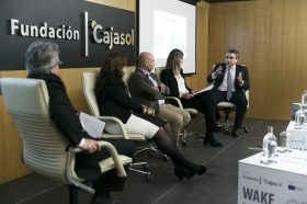 """Jornada informativa sobre el programa de emprendedores 'Wake UP!' en Sevilla (8) • <a style=""""font-size:0.8em;"""" href=""""http://www.flickr.com/photos/129072575@N05/41365272732/"""" target=""""_blank"""">View on Flickr</a>"""
