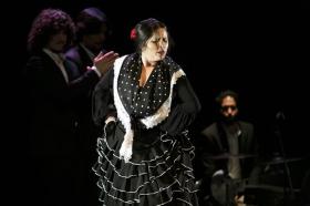 """Jueves Flamencos de la Fundación Cajasol en Sevilla: Antonio Molina 'El Choro' (33) • <a style=""""font-size:0.8em;"""" href=""""http://www.flickr.com/photos/129072575@N05/39620185440/"""" target=""""_blank"""">View on Flickr</a>"""