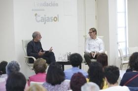 """Presentación del libro 'Leonard Cohen y el Zen' en Sevilla (12) • <a style=""""font-size:0.8em;"""" href=""""http://www.flickr.com/photos/129072575@N05/42436918514/"""" target=""""_blank"""">View on Flickr</a>"""