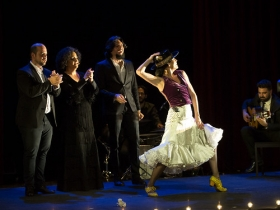 "Jueves Flamencos de la Fundación Cajasol en Sevilla: Lucía Álvarez 'La Piñona' (4) • <a style=""font-size:0.8em;"" href=""http://www.flickr.com/photos/129072575@N05/43084403911/"" target=""_blank"">View on Flickr</a>"