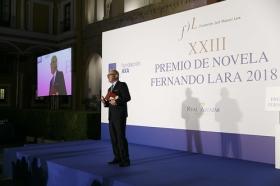 "Entrega del XXIII Premio de Novela Fernando Lara (4) • <a style=""font-size:0.8em;"" href=""http://www.flickr.com/photos/129072575@N05/41010764205/"" target=""_blank"">View on Flickr</a>"
