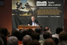"Letras en Sevilla: 'España, ¿Mito, o realidad?'. 21 de mayo. Sesión de mañana (20) • <a style=""font-size:0.8em;"" href=""http://www.flickr.com/photos/129072575@N05/28384743768/"" target=""_blank"">View on Flickr</a>"