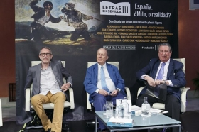 "Letras en Sevilla: 'España, ¿Mito, o realidad?'. 22 de mayo. Sesión de tarde • <a style=""font-size:0.8em;"" href=""http://www.flickr.com/photos/129072575@N05/42249568522/"" target=""_blank"">View on Flickr</a>"