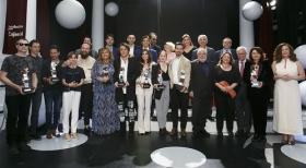 """Gala de entrega de los premios 'El Público' de Canal Sur 2018 desde la Fundación Cajasol • <a style=""""font-size:0.8em;"""" href=""""http://www.flickr.com/photos/129072575@N05/41802286662/"""" target=""""_blank"""">View on Flickr</a>"""