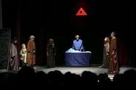 """Representación de 'El Gran Teatro del Mundo' en la Fundación Cajasol (12) • <a style=""""font-size:0.8em;"""" href=""""http://www.flickr.com/photos/129072575@N05/41787743504/"""" target=""""_blank"""">View on Flickr</a>"""