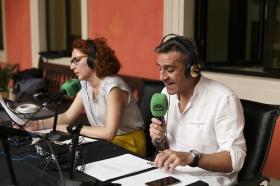 """Programa especial de 'Sevilla en la Onda' desde la Fundación Cajasol (4) • <a style=""""font-size:0.8em;"""" href=""""http://www.flickr.com/photos/129072575@N05/42075554164/"""" target=""""_blank"""">View on Flickr</a>"""
