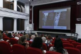 """Jornadas 'British TV: Auge y calidad de las series de ficción británicas' (13) • <a style=""""font-size:0.8em;"""" href=""""http://www.flickr.com/photos/129072575@N05/42656646842/"""" target=""""_blank"""">View on Flickr</a>"""