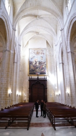 "Visita institucional a la Iglesia de Santiago en Jerez (2) • <a style=""font-size:0.8em;"" href=""http://www.flickr.com/photos/129072575@N05/43147359101/"" target=""_blank"">View on Flickr</a>"