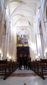 "Visita institucional a la Iglesia de Santiago en Jerez (4) • <a style=""font-size:0.8em;"" href=""http://www.flickr.com/photos/129072575@N05/43147363401/"" target=""_blank"">View on Flickr</a>"