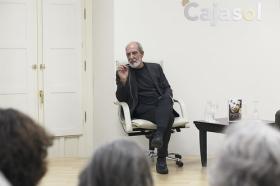 """Presentación del libro 'Leonard Cohen y el Zen' en Sevilla (2) • <a style=""""font-size:0.8em;"""" href=""""http://www.flickr.com/photos/129072575@N05/28285984837/"""" target=""""_blank"""">View on Flickr</a>"""