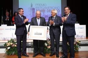 "Entrega del Premio Iberoamericano Torre del Oro 2018 • <a style=""font-size:0.8em;"" href=""http://www.flickr.com/photos/129072575@N05/44191438965/"" target=""_blank"">View on Flickr</a>"