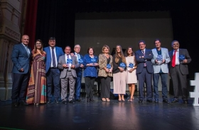 "Premios Cajasol Buena Gente de Huelva 2018 • <a style=""font-size:0.8em;"" href=""http://www.flickr.com/photos/129072575@N05/44298888095/"" target=""_blank"">View on Flickr</a>"