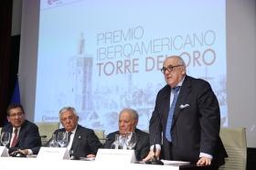 "Entrega del Premio Iberoamericano Torre del Oro 2018 (14) • <a style=""font-size:0.8em;"" href=""http://www.flickr.com/photos/129072575@N05/31228843748/"" target=""_blank"">View on Flickr</a>"