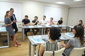 "I Programa Formativo para emprendedores del sector cultural en la Fundación Cajasol (3) • <a style=""font-size:0.8em;"" href=""http://www.flickr.com/photos/129072575@N05/44878670312/"" target=""_blank"">View on Flickr</a>"