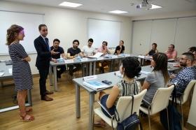 "I Programa Formativo para emprendedores del sector cultural en la Fundación Cajasol (7) • <a style=""font-size:0.8em;"" href=""http://www.flickr.com/photos/129072575@N05/44878670542/"" target=""_blank"">View on Flickr</a>"