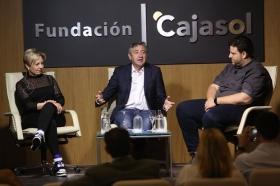 """Mesa redonda 'Cuando la cocina es una fiesta' en la Fundación Cajasol (11) • <a style=""""font-size:0.8em;"""" href=""""http://www.flickr.com/photos/129072575@N05/34344839276/"""" target=""""_blank"""">View on Flickr</a>"""