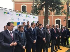 """Inauguración del Congreso Internacional de Cambio Climático SOCC Huelva 2017 (3) • <a style=""""font-size:0.8em;"""" href=""""http://www.flickr.com/photos/129072575@N05/34186492070/"""" target=""""_blank"""">View on Flickr</a>"""