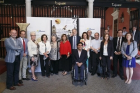 """Inauguración del Festival de Cortos y Salud Mental 2017 en la Fundación Cajasol • <a style=""""font-size:0.8em;"""" href=""""http://www.flickr.com/photos/129072575@N05/34837427635/"""" target=""""_blank"""">View on Flickr</a>"""