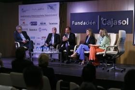 """XVII Jornadas Aeronáuticas con entrega de los Premios Valores de Excelencia desde la Fundación Cajasol (16) • <a style=""""font-size:0.8em;"""" href=""""http://www.flickr.com/photos/129072575@N05/33869924274/"""" target=""""_blank"""">View on Flickr</a>"""