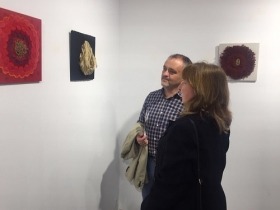"Exposición 'Entretelas' en la Fundación Cajasol (Huelva) (6) • <a style=""font-size:0.8em;"" href=""http://www.flickr.com/photos/129072575@N05/34360007876/"" target=""_blank"">View on Flickr</a>"