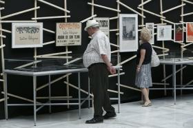 """Exposición 'El compromiso de un pueblo. 50 años de Teatro Lebrijano' en la Fundación Cajasol (4) • <a style=""""font-size:0.8em;"""" href=""""http://www.flickr.com/photos/129072575@N05/34069786453/"""" target=""""_blank"""">View on Flickr</a>"""