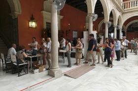 """Maratón de Donación de Sangre en Fundación Cajasol • <a style=""""font-size:0.8em;"""" href=""""http://www.flickr.com/photos/129072575@N05/35260518496/"""" target=""""_blank"""">View on Flickr</a>"""